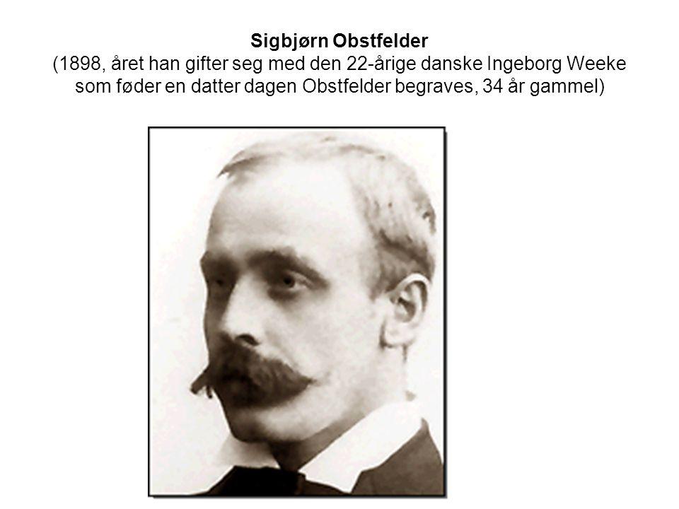 Obstfelders biografi, annen kilde: http://norsknettskole.no/fag/ressurser/itstud/fuv/atlebolsen/sigbjorn.htm#oversiktofeld •Sigbjørn Obstfelder ble født i Stavanger i 1866, som nummer sju av i alt seksten barn.