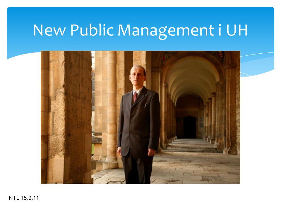 NTL 15.9.11 New Public Management i UH