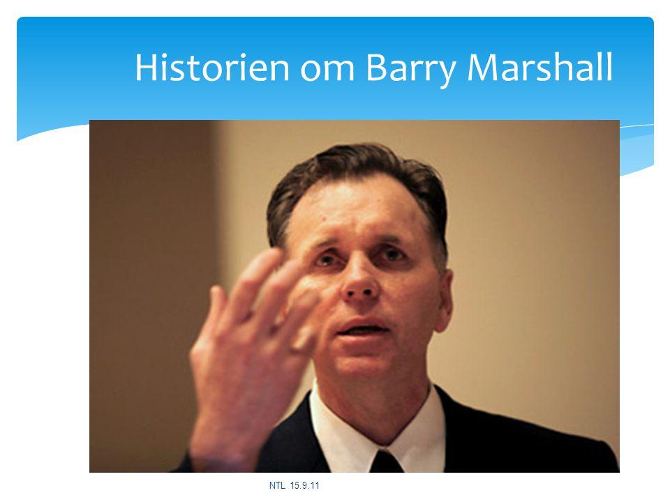 Historien om Barry Marshall NTL 15.9.11
