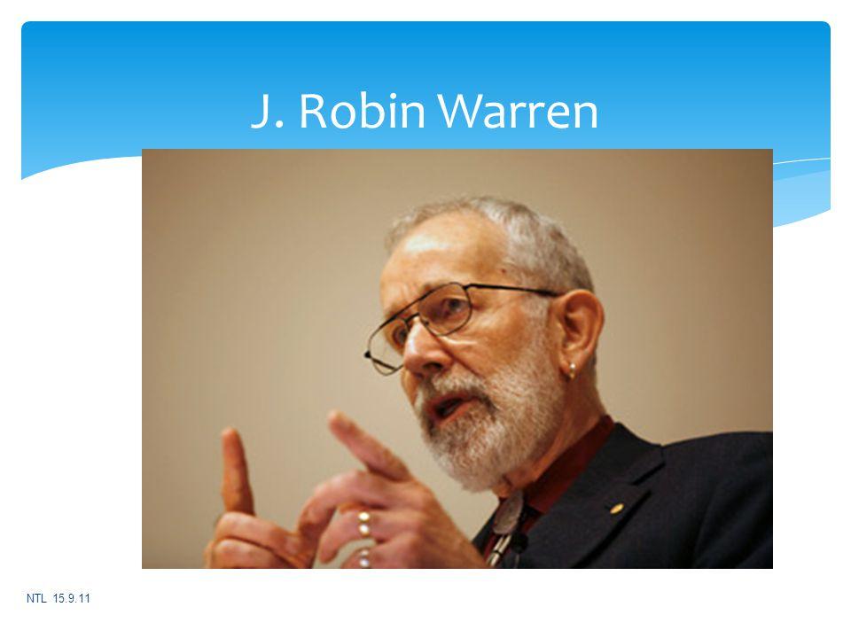 J. Robin Warren NTL 15.9.11