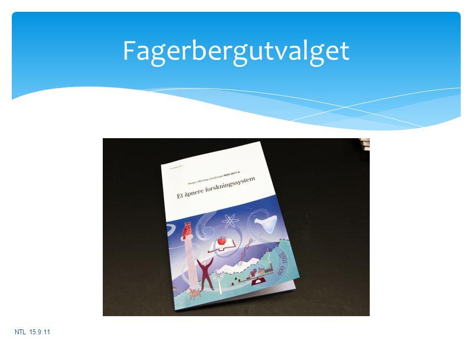 Fagerbergutvalget NTL 15.9.11