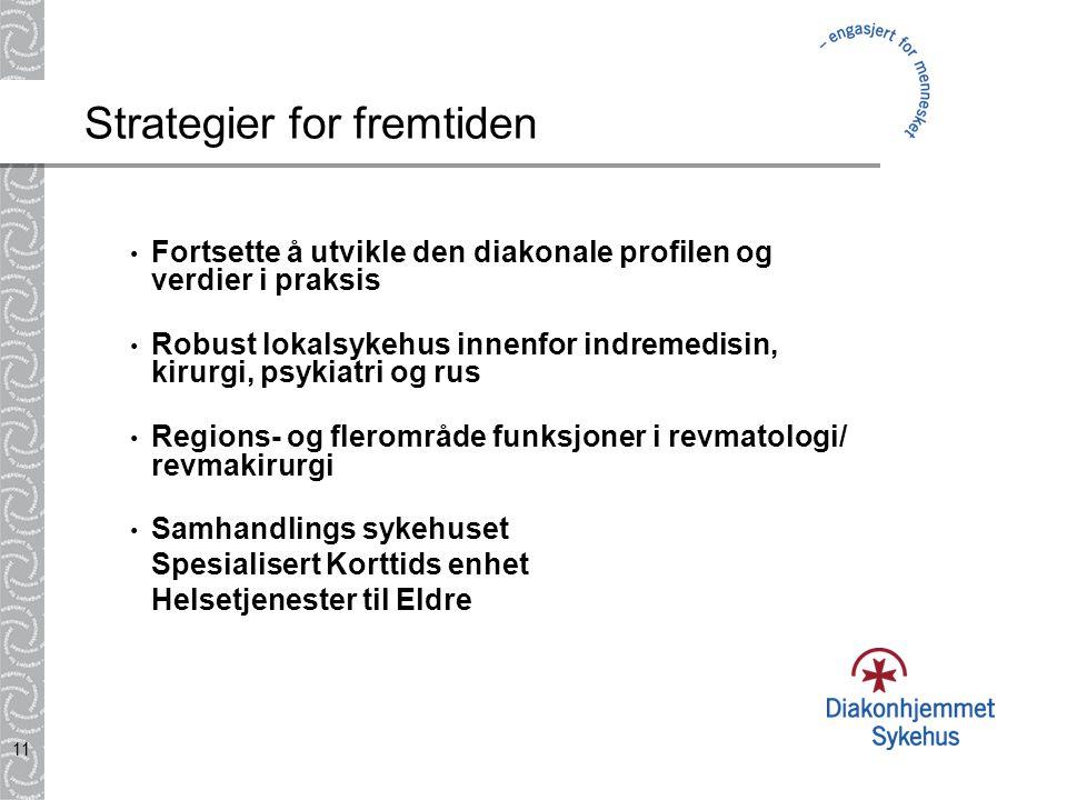 10 Diakonhjemmet Sykehus skal som privat sykehus være et likeverdig alternativ innenfor rammen av det offentlige helsevesen, og skal utvikle og tilby