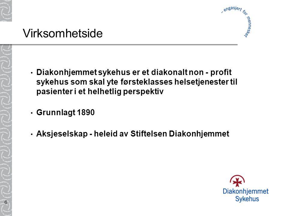5 Historiske røtter • To tusen år gammel tradisjon • Omsorg og behandling av mennesker i nød • Slutten av 1800-tallet:  Oslo preget av fattigdom nød