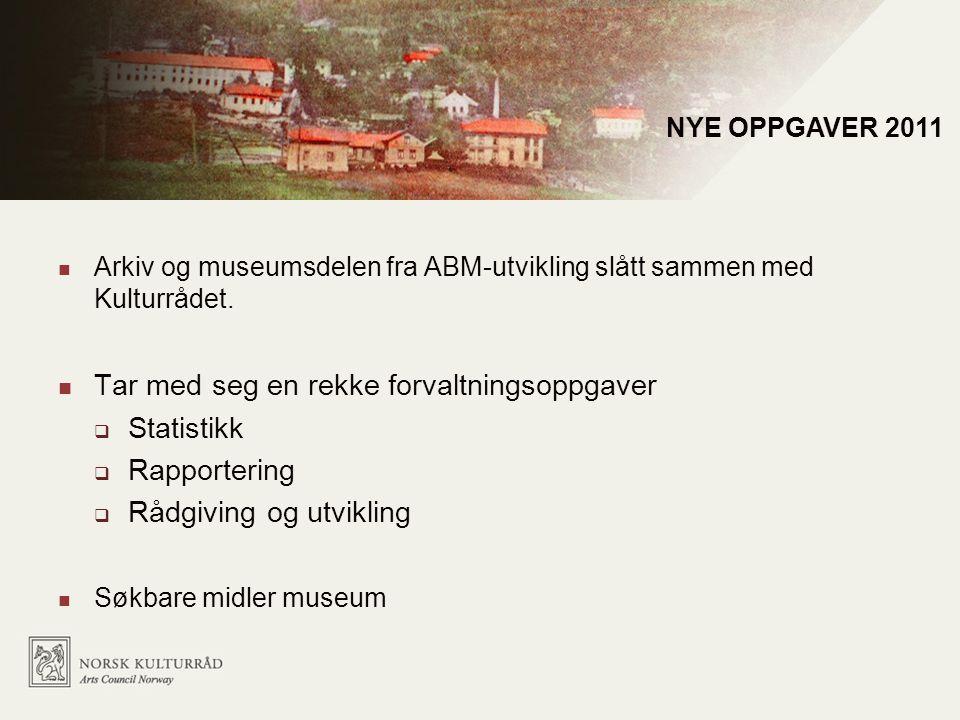 Mål for Norsk kulturråd