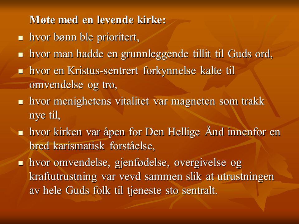  Korsveis opptatthet av New Monasticsim , inspiret fra Storbritania og USA.