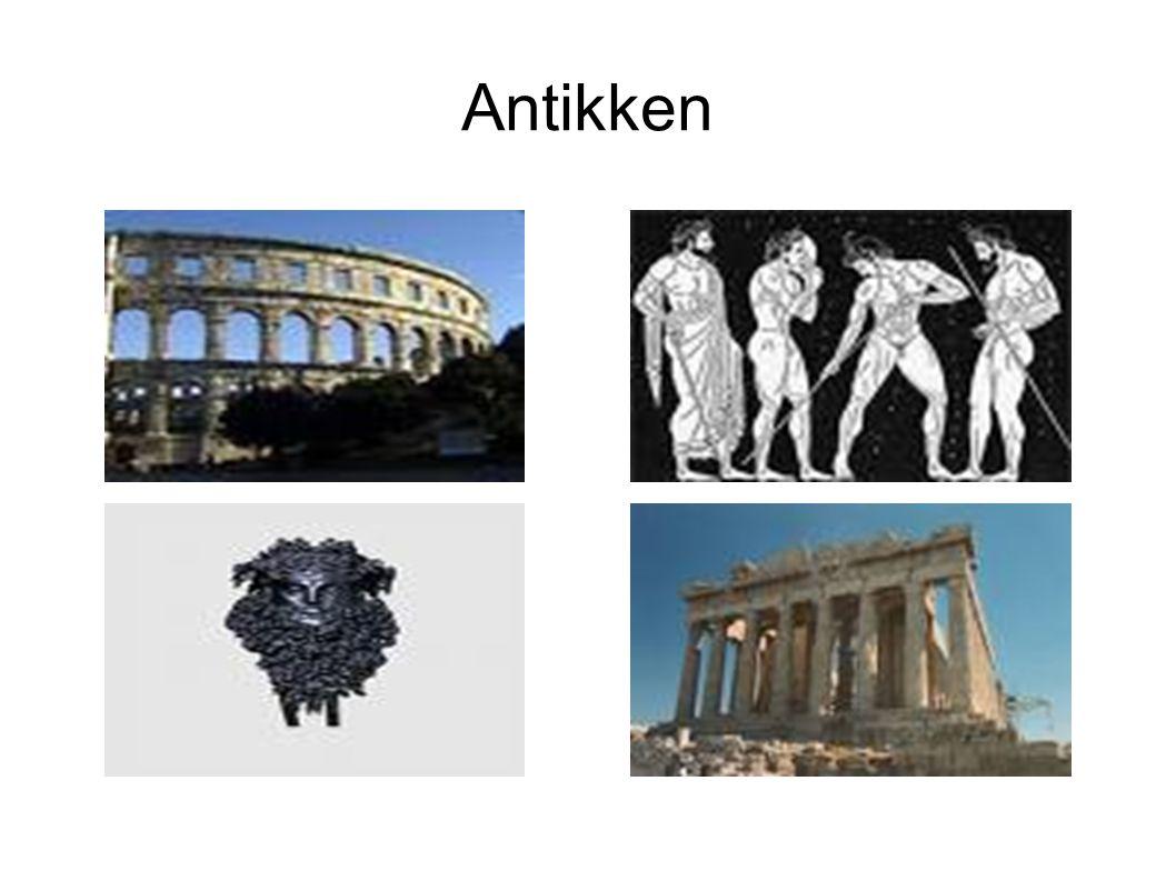 Med antikken mener vi perioden mellom 700 f.Kr.
