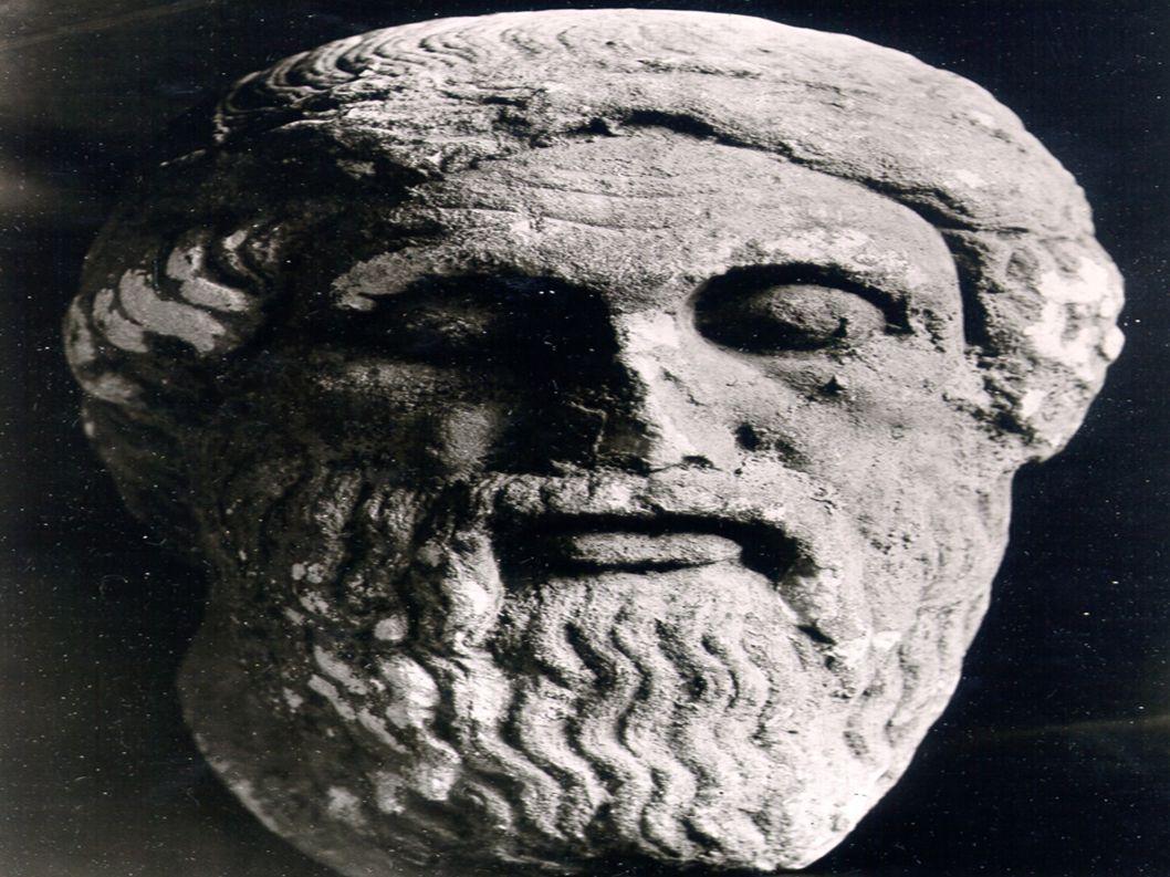 Hellas ● Dette er Hellas i dag ● Hellas har vært veldig veldig mye større ● I antikken var det en konge som het Aleksander ● Her er et bilde av han
