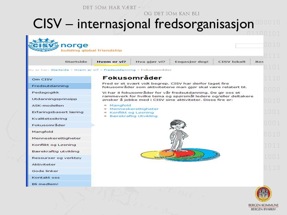 CISV – internasjonal fredsorganisasjon