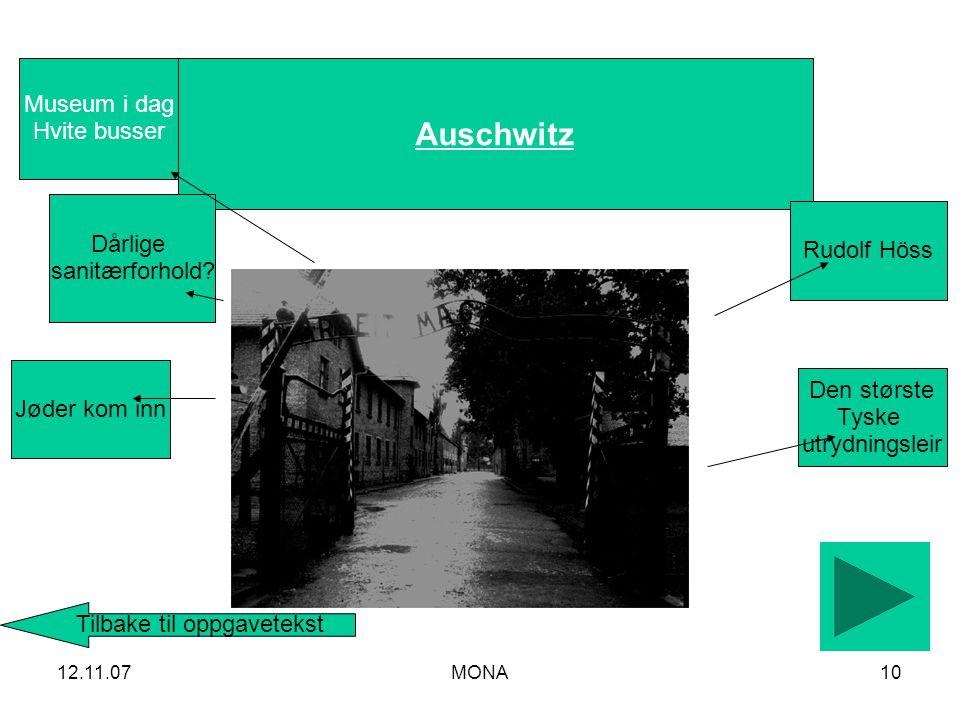 12.11.07MONA10 Auschwitz Dårlige sanitærforhold.
