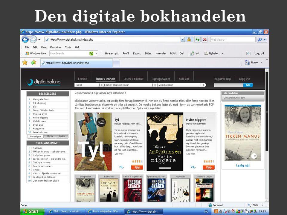Den digitale bokhandelen