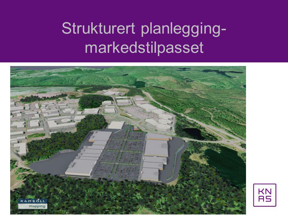Strukturert planlegging- markedstilpasset