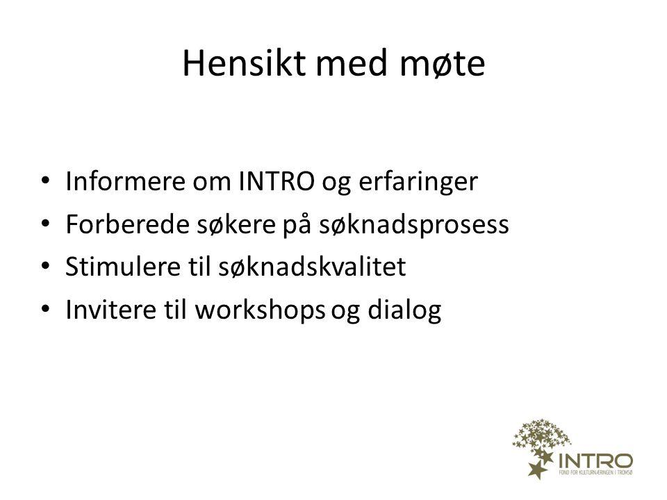 Bærekraftig kulturnæring i Tromsø-regionen Øke omsetningen og lønnsomheten: 1.