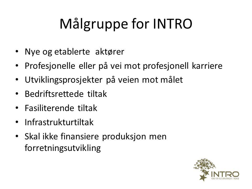 Geografisk satsingsområde • Tromsø –regionen • Regional betydning • Internasjonalisering / nordområdeperspektiv