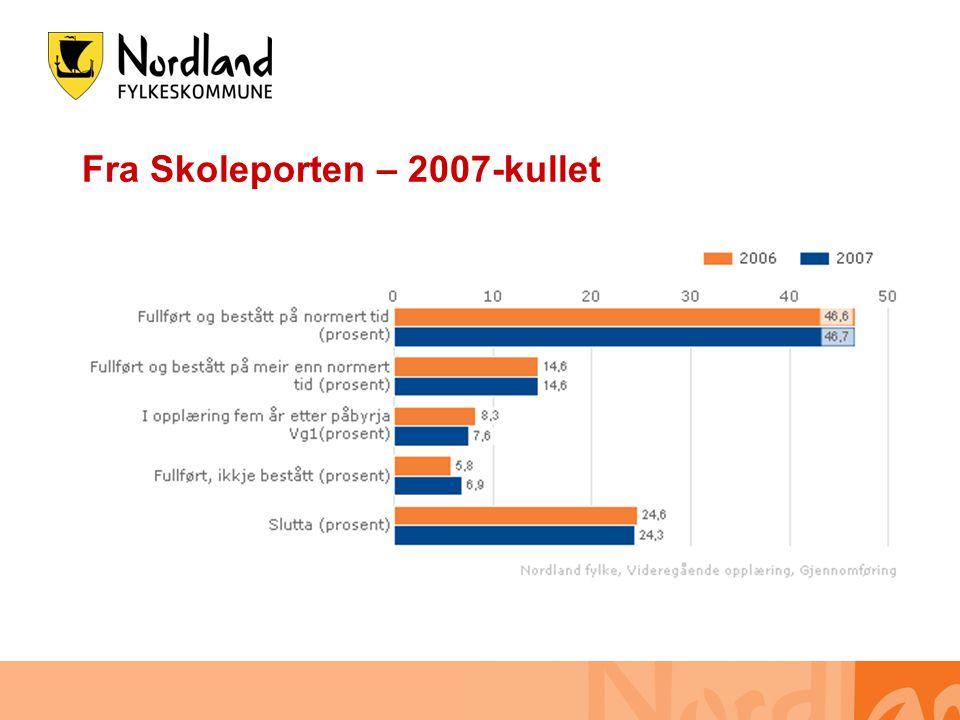 Fra Skoleporten – 2007-kullet