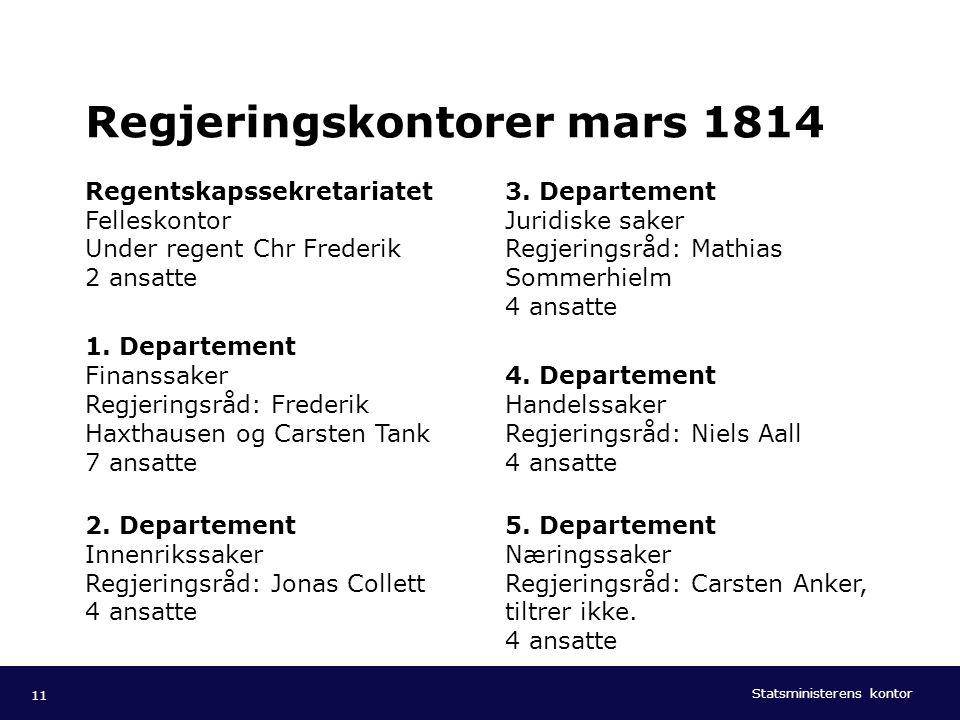 Statsministerens kontor Norsk mal: To innholdsdeler - Sammenlikning Tips farger: SMKs fargepalett er lagt inn i malen og vil brukes automatisk i diagr