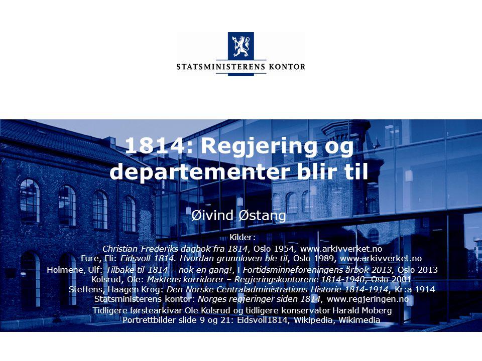 Statsministerens kontor Norsk mal: Sluttside Tips bildekreditering: Alle bilder brukt i presentasjonen må krediteres for eksempel slik: Slide nr. X: F