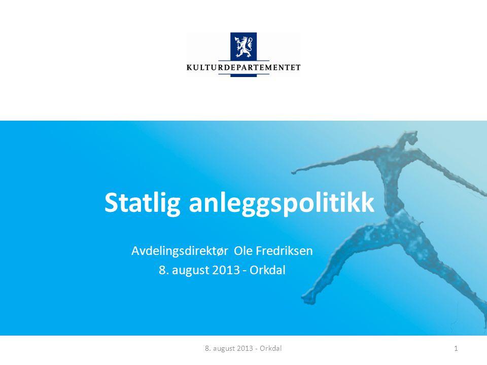 Norsk mal: Tekst med kulepunkter - 1 vertikalt bilde Tips bilde: For best oppløsning anbefales Jpg og png-format Skisserte tiltak anlegg, forts.