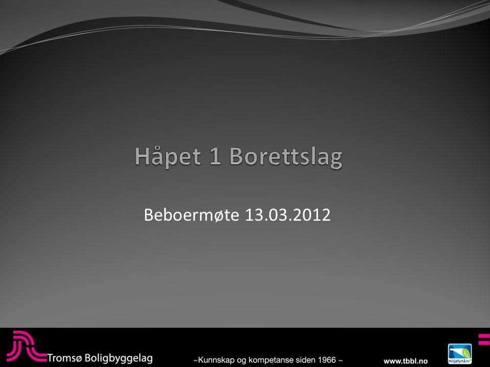 Beboermøte 13.03.2012