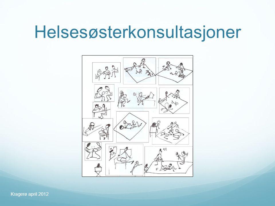 Helsesøsterkonsultasjoner Kragerø april 2012