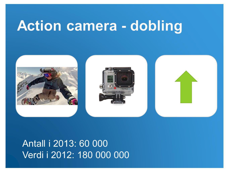 Antall i 2013: 60 000 Verdi i 2012: 180 000 000