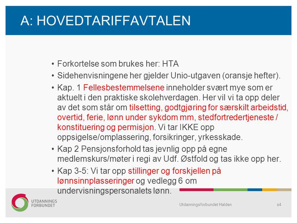2: Inndeling av årsverket •Årsverket er på 1687,5 t (1650 for lærere 60 år+).