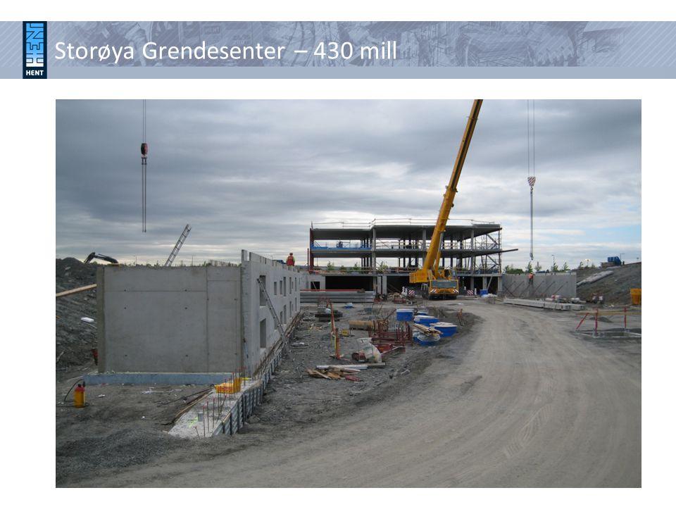 Storøya Grendesenter – 430 mill
