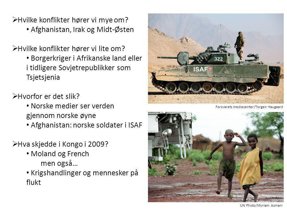  Et misforstått fredsbilde  Manipulerte krigsbilder  Et utsnitt fra virkeligheten  Ingen grenser på internett Kan et bilde lyve.