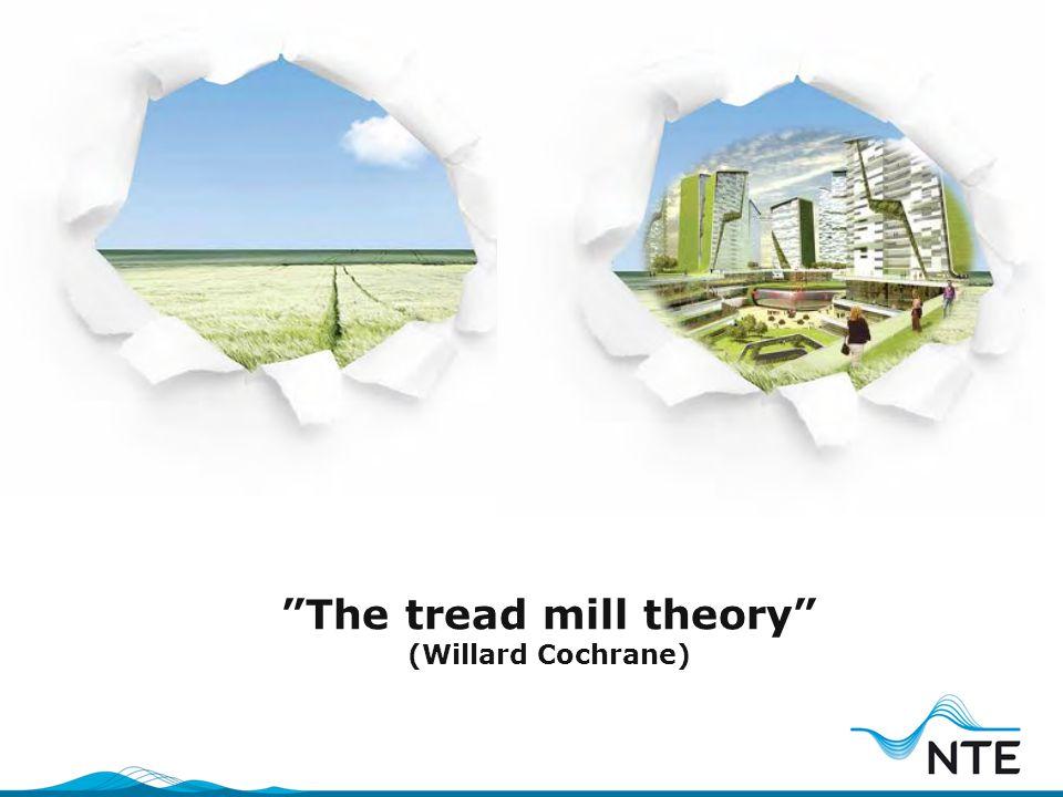 """The tread mill theory"" (Willard Cochrane)"
