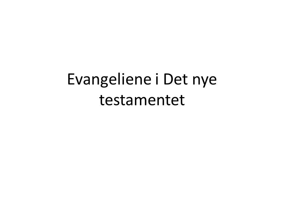 • Oppsto rykter om at Jesus sto opp fra de døde • Utgangspunktet for kristendommen