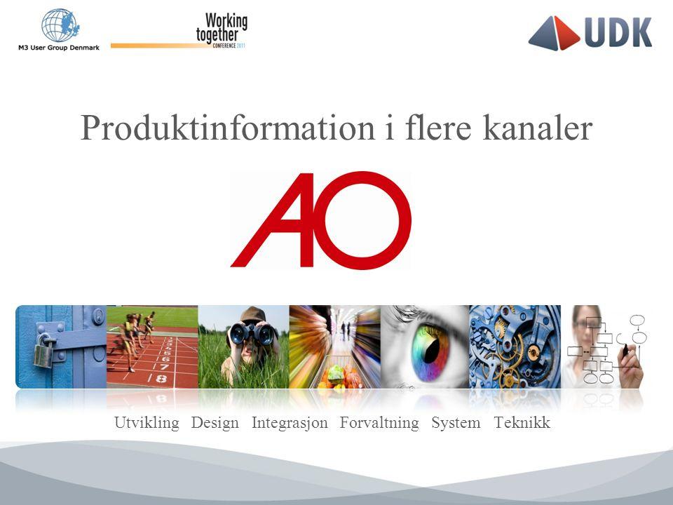 Utvikling Design Integrasjon Forvaltning System Teknikk Produktinformation i flere kanaler