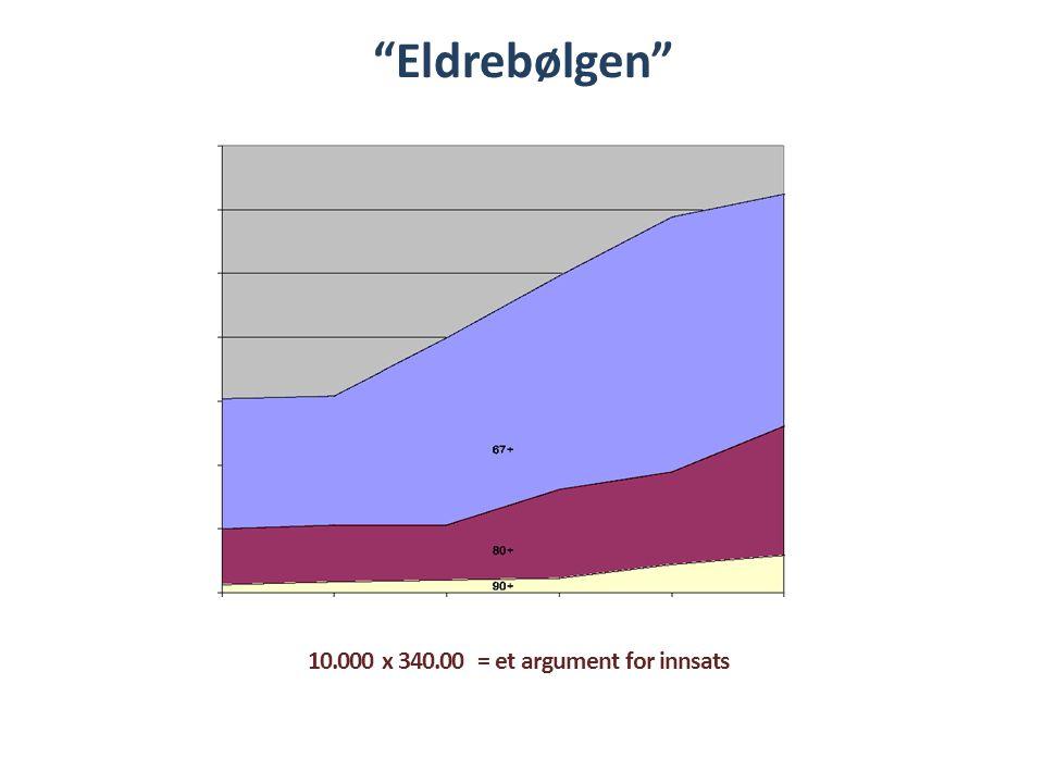 """""""Eldrebølgen"""" 10.000 x 340.00 = et argument for innsats"""