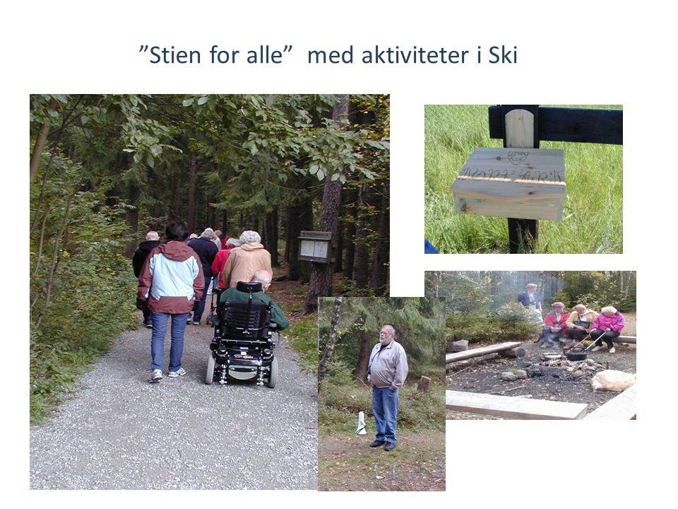 """""""Stien for alle"""" med aktiviteter i Ski"""