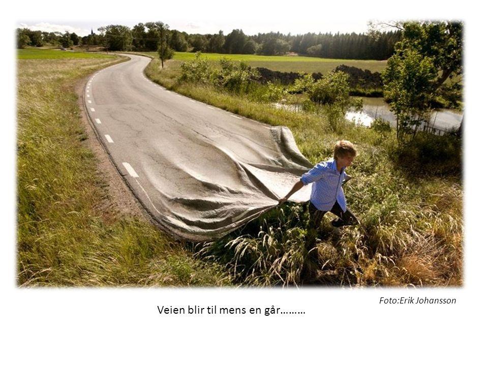 Veien blir til mens en går……… Foto:Erik Johansson