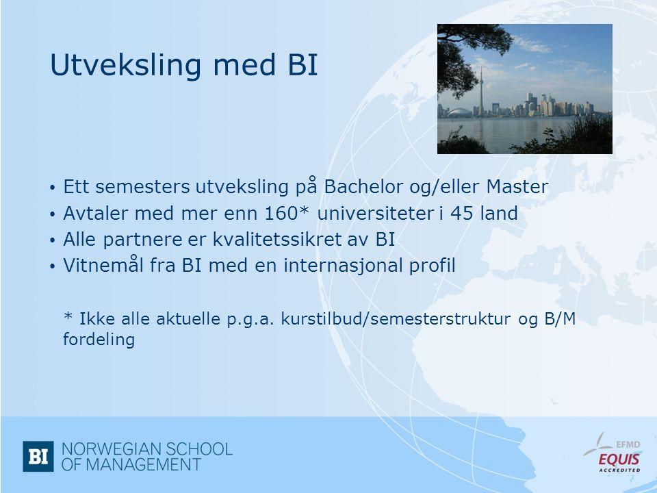 Når kan du reise.• Bachelor i økonomi og ledelse (siv.øk)4.