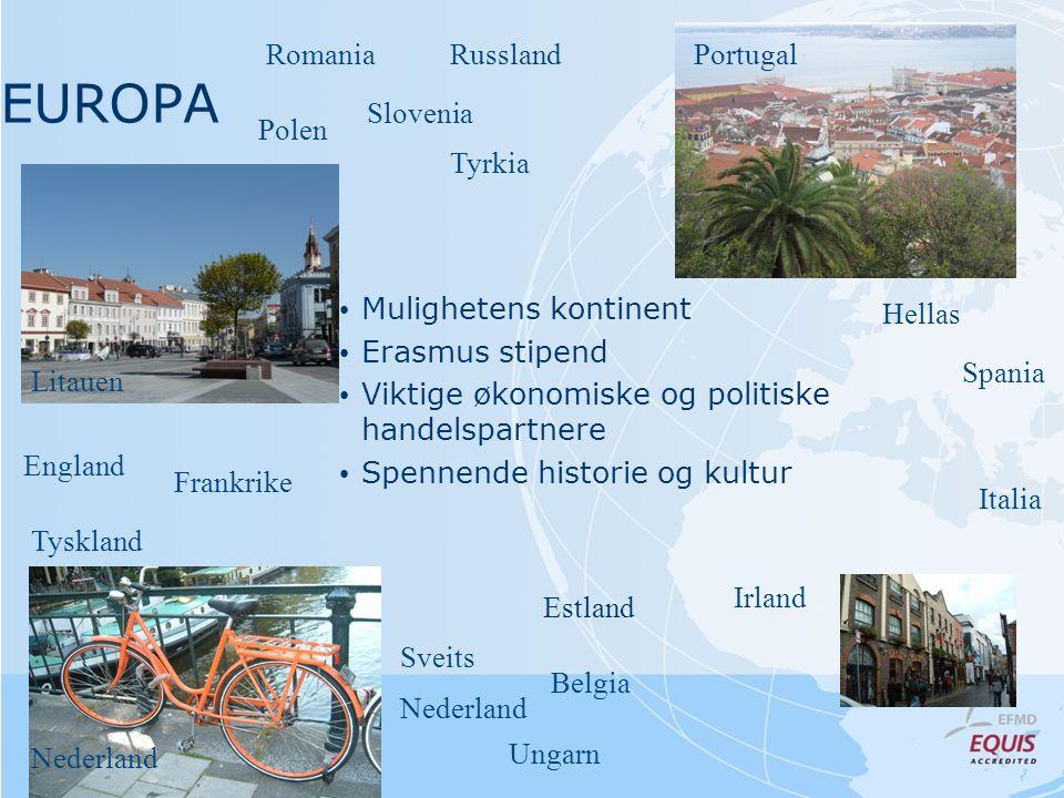 NORDEN Finland • Internasjonalt miljø • Store nettverksmuligheter • Gode jobbutsikter Danmark Sverige Island