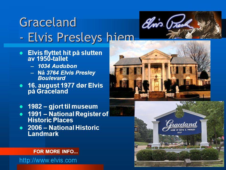 Graceland - Elvis Presleys hjem Velkommen inn i stua...