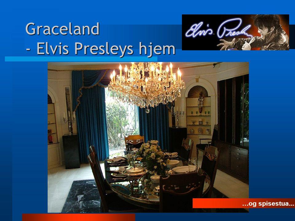 Graceland - Elvis Presleys hjem The Jungle Room ...