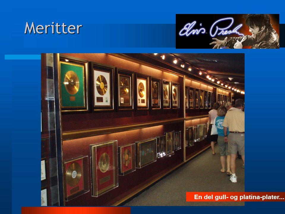 Meritter Elvis solgte også i Norge...