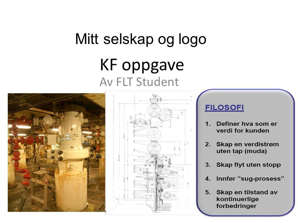 KF oppgave Av FLT Student Mitt selskap og logo