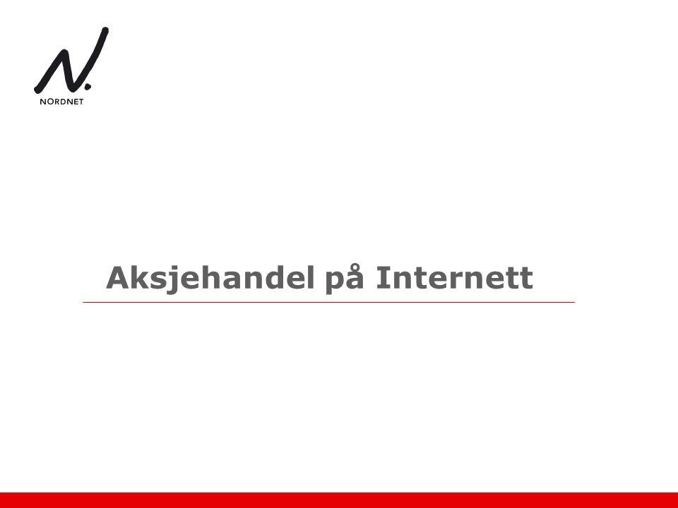 Aksjehandel på Internett