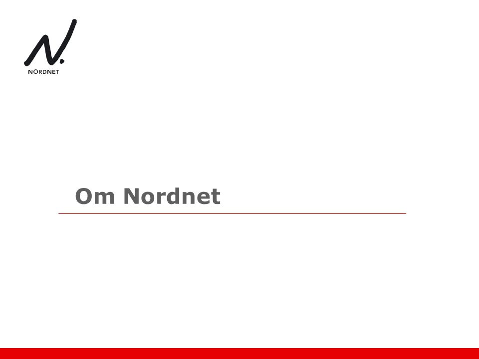 Om Nordnet