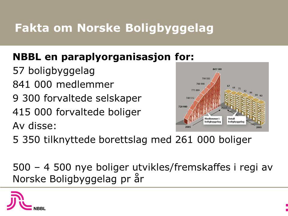 Boligformue og –gjeld i norske husholdninger 2012 4 400 mrd – 1 900 mrd – 2 500 mrd – totale verdien av norske boliger totale utlån med pant i bolig netto boligkapital i Norge ( Friverdier )