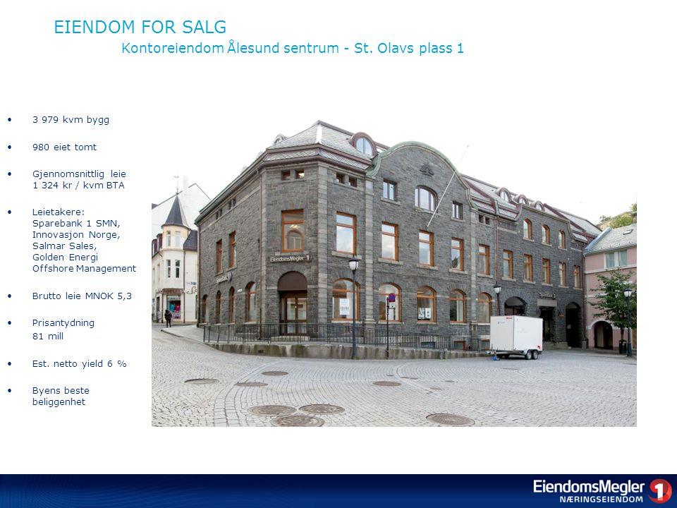EIENDOM FOR SALG Kontoreiendom Ålesund sentrum - St.