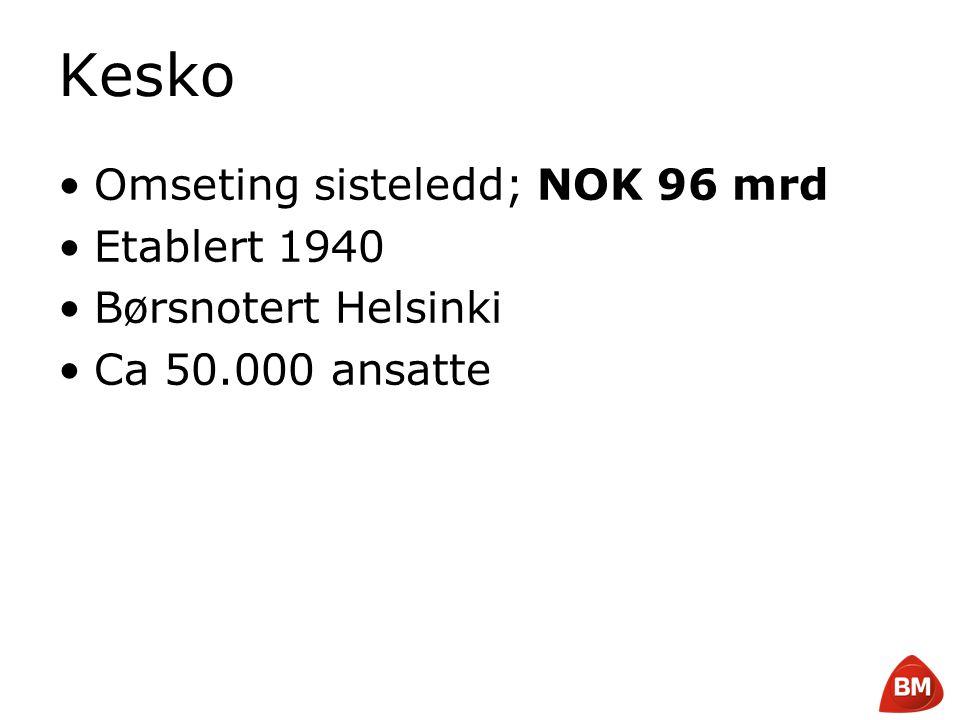Copyright © 2008 Byggmakker Norge AS Finland 5.3m Sweden 9m Estonia 1.4m Latvia 2.3m Lithuania 3.4m St.