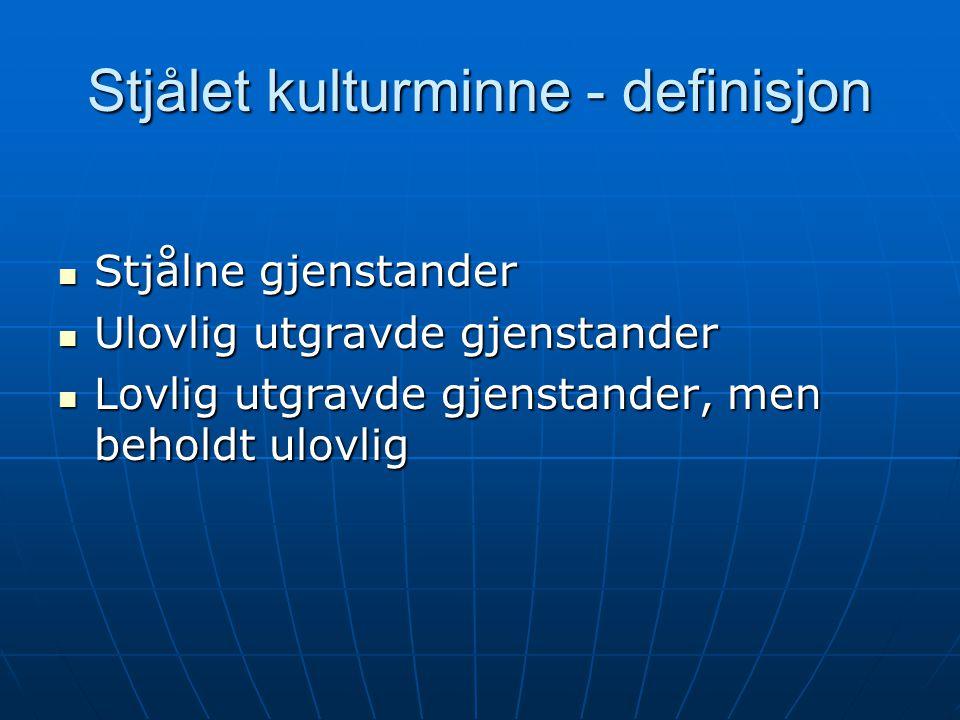 KulturminnelovenKonvensjonen § 23a Art 3 og 5 § 23b 1.ledd 2.ledd 2.ledd Art 3.1, 5.2 Art 4.1, 4.5, 6 § 23c Art 5 § 23d 1.