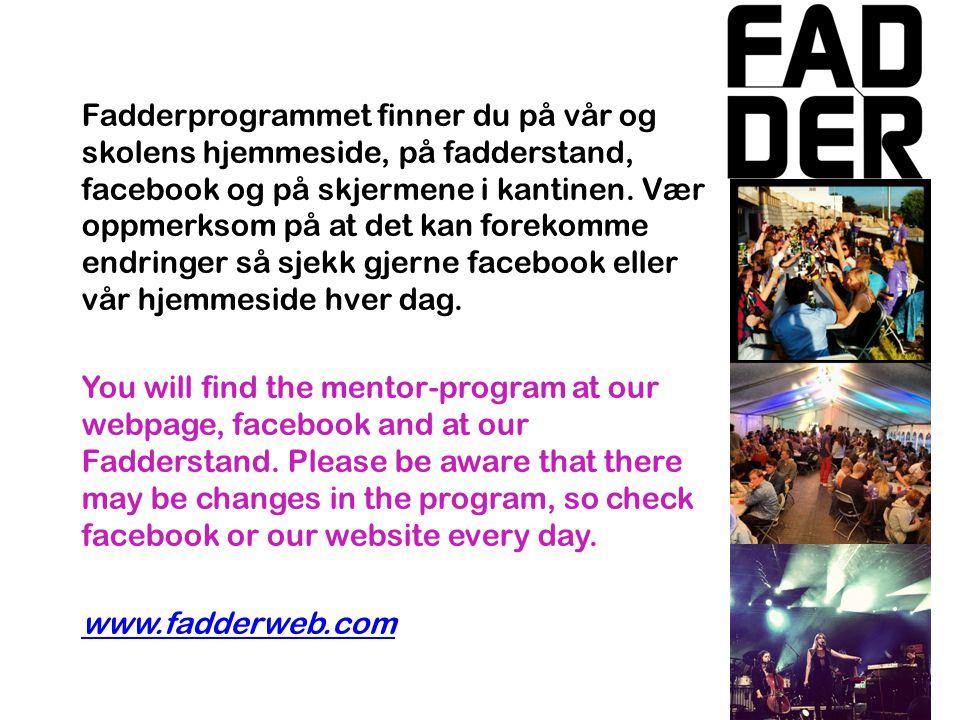 # FADDERHIALS ON INSTAGRAM Nå / Now -Omvisning på HiÅ Tour of AAUC - Grilling i Campusteltet Barbecue in the campust tent -Vorspiel i kveld.