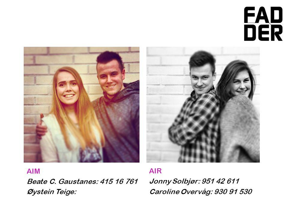 ABF Regine Dahler: 930 66 278 Torstein T.