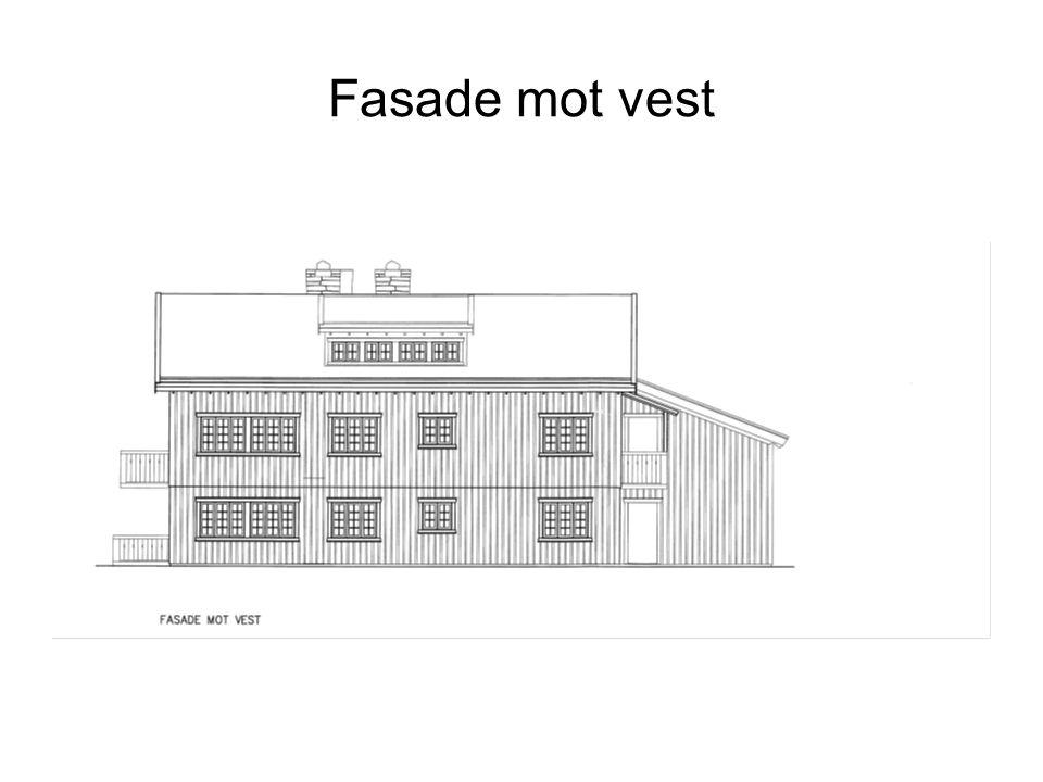 Fasade mot vest