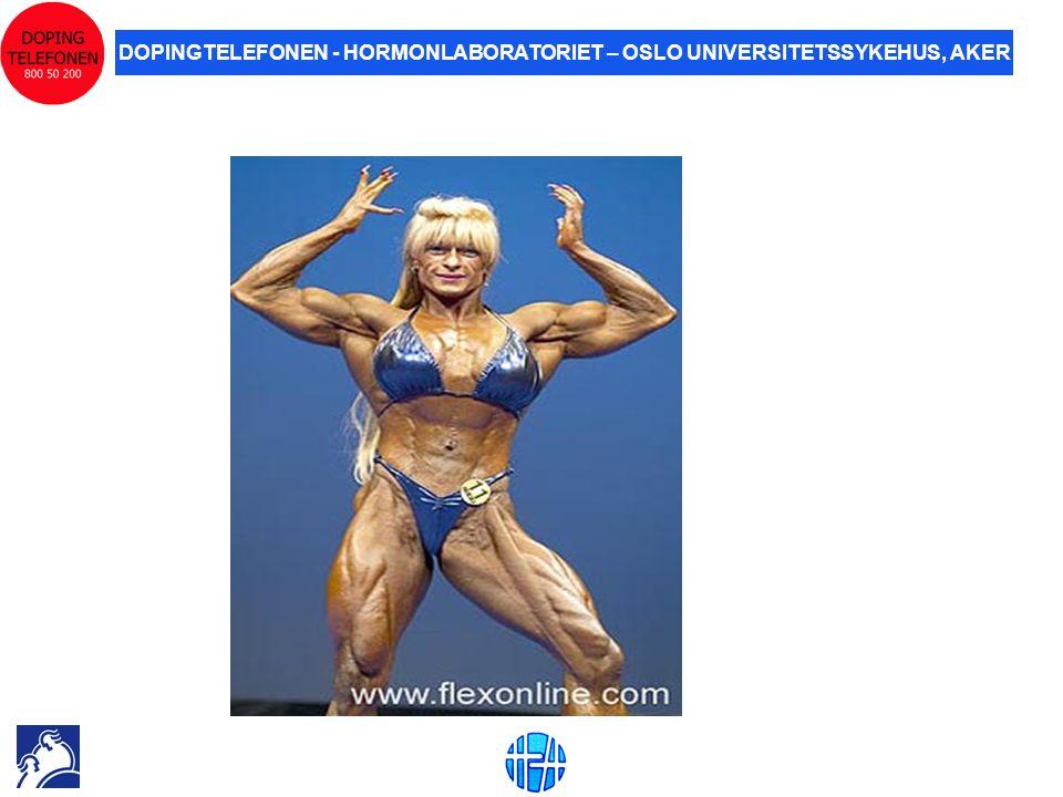 DOPINGTELEFONEN - HORMONLABORATORIET – OSLO UNIVERSITETSSYKEHUS, AKER