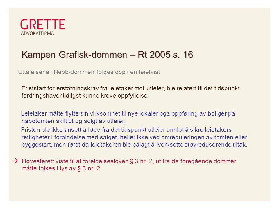 Kampen Grafisk-dommen – Rt 2005 s.